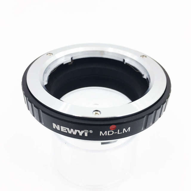 NEWYI MD LM อะแดปเตอร์สำหรับ Minolta MD เลนส์ Leica LM กล้อง TECHART LM EA7 เลนส์กล้องอุปกรณ์เสริม