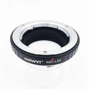 Image 1 - Techart MD LM 카메라 렌즈 링 액세서리가있는 minolta md 렌즈 용 newyi LM EA7 어댑터