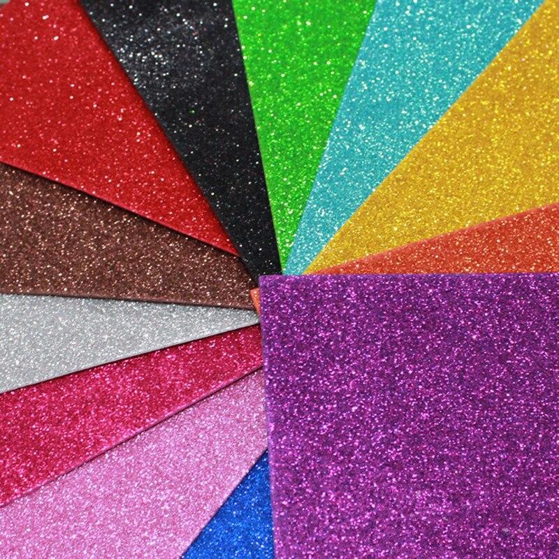 20 30 Cm Adheasive Glitter Spons Kertas Kertas Busa Eva