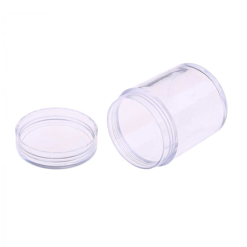 3.8*4.9 cm 100ml Storage Container Organizer Box For Light Clay Play dough Foam Slime Mud One Piece