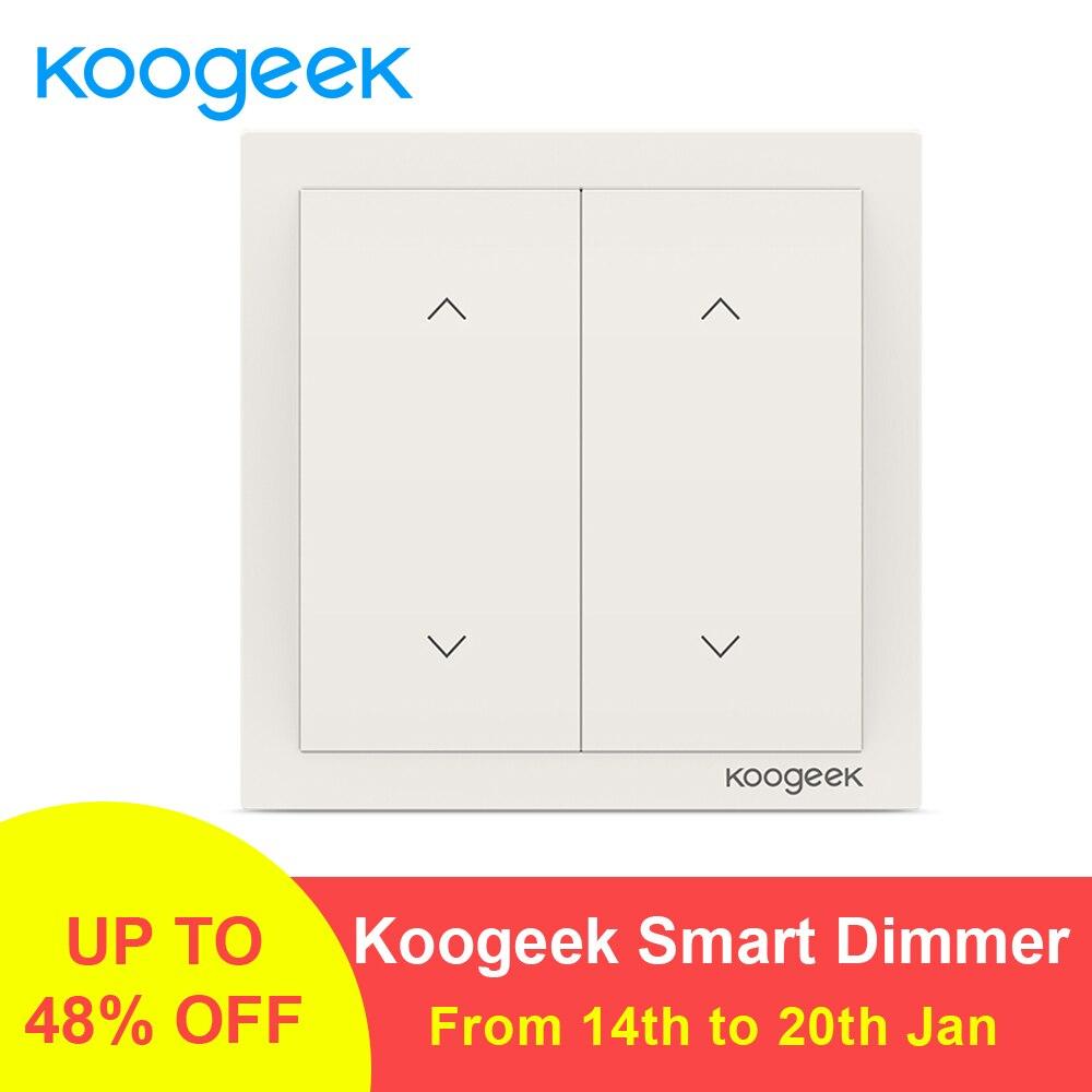 Koogeek 2 банды WiFi переключатель света беспроводной Siri пульт дистанционного управления выключатели умный дом для Apple HomeKit Alexa Google Assistant