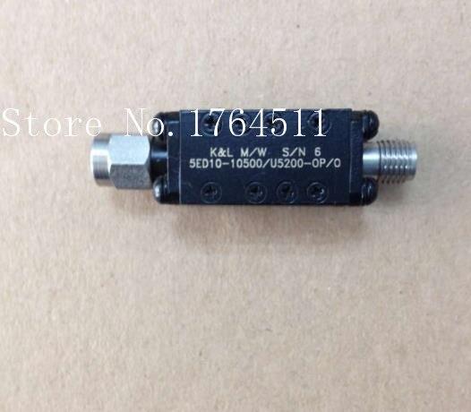 [BELLA] K&L 5ED10-10500/U5200-OP/O 8-13GHZ RF Bandpass Filter SMA (F-M)