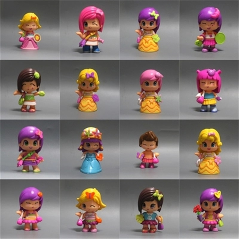 High Quality 1-15Pcs/Lot Lovely Boneca Pinypon Scented Dolls Toys Detachable Kids Action Toy Figures Fashion Girl Doll Toys fashion star wars toys for kids high quality plastic action figures baby milo bape model dolls brand gifts myj001