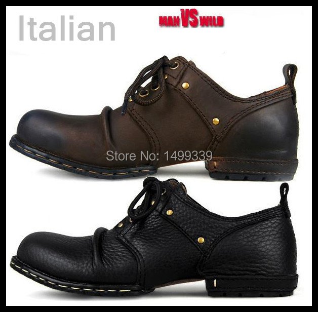 High End Italian Leather Shoes Mens