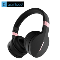 Samload Wireless Bluetooth Headphones Gaming Headsets Earphone Collapsible With Microphone TF Card Music For Phone