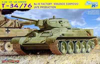 """Drachen 6479 1/35 T 34/76 No. 112 Fabrik """"Krasnoe Sormovo"""" Late Produktion-in Modellbau-Kits aus Spielzeug und Hobbys bei  Gruppe 1"""
