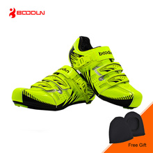 BOODUN  Professional Auto-lock Cycling Shoes Ultralight Road Bike Bicycle Shoes Breathable Sneakers Sapatos ciclismo