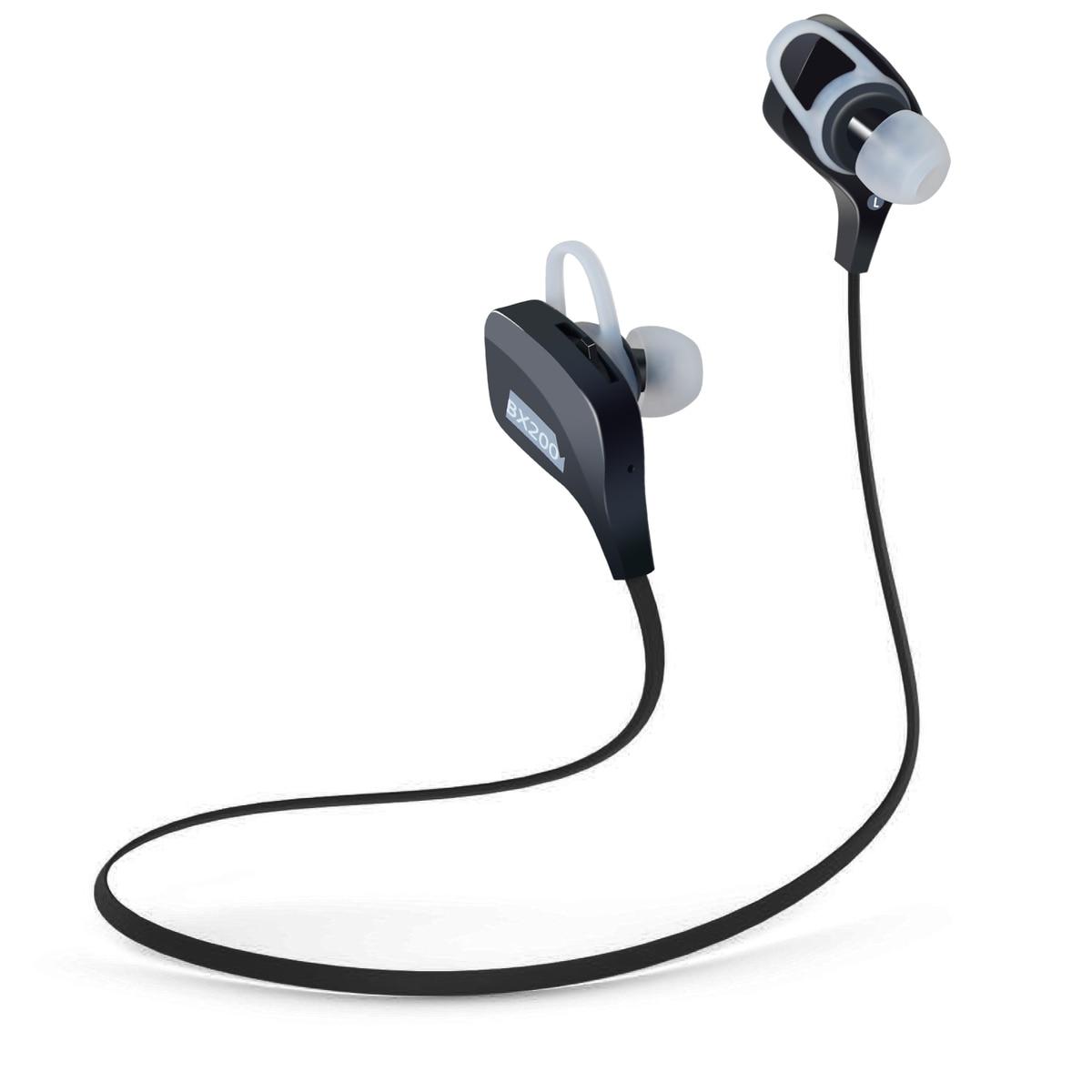 plextone noise cancelling wireless earphones bluetooth 4 1 sport headphones running gym exercise. Black Bedroom Furniture Sets. Home Design Ideas