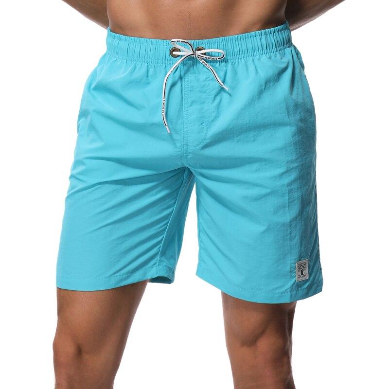 SHEKINI Men's Board Shorts Swimwear Striped Swim Shorts Swimming Trunks with Mesh Lining