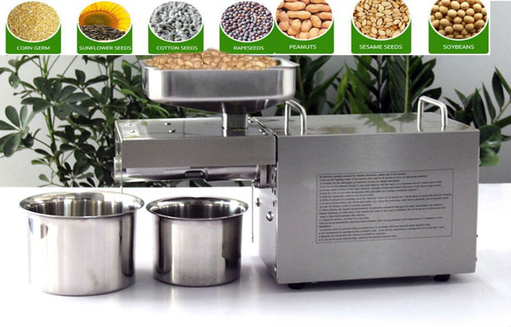 EMS DHL, New Olive Oil Press Machine Commercial Grade Oil Extraction Expeller Presser Stainless Steel 110V or 220V for choose dhl ems 5 lots 1pc new for sch neider cad32m7c ca d32m7c 220v relay f2