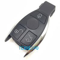 New Style Replacement Remote Car Key Case Shell For Mercedes Benz 3 Buttons Smart Key Case