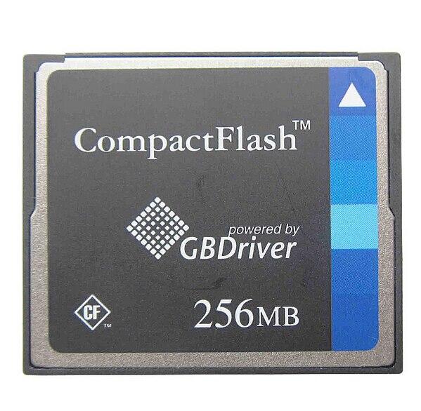 5 ШТ./ЛОТ CompactFlash 256 МБ CF Карты 256 М Питание От GBDrive бесплатная случай карты памяти