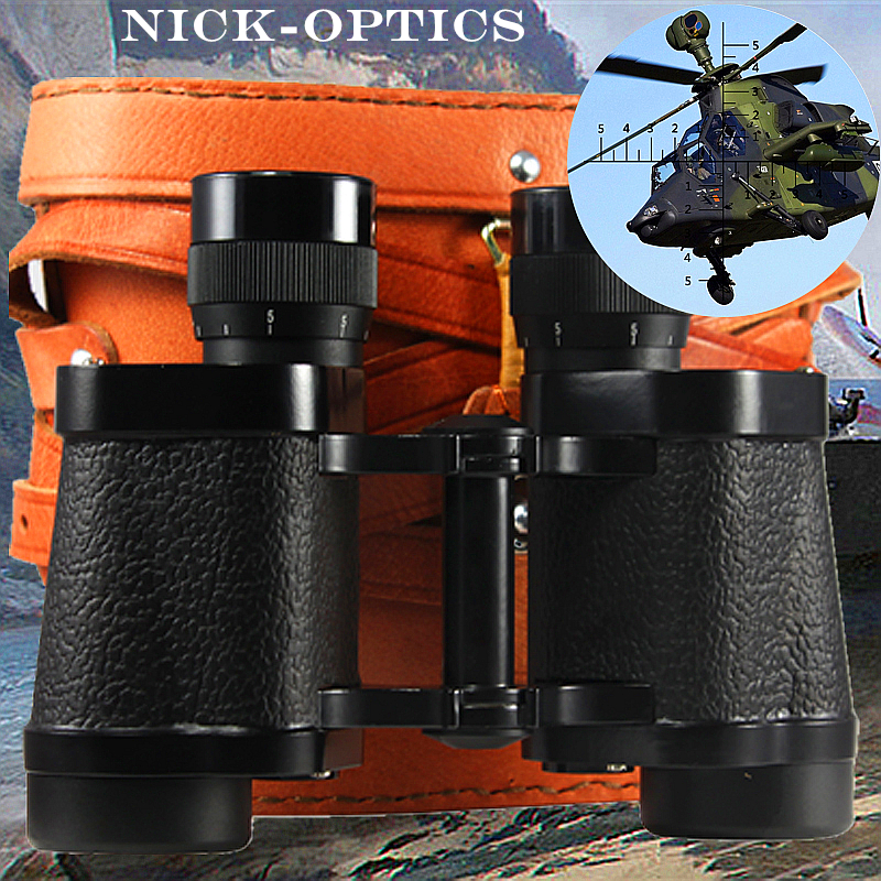 Chinese Binoculars Top Military Telescope 8x30 With Built-in Recitle Full-mental Type 62 Army Used Binocular Lll Night Vision