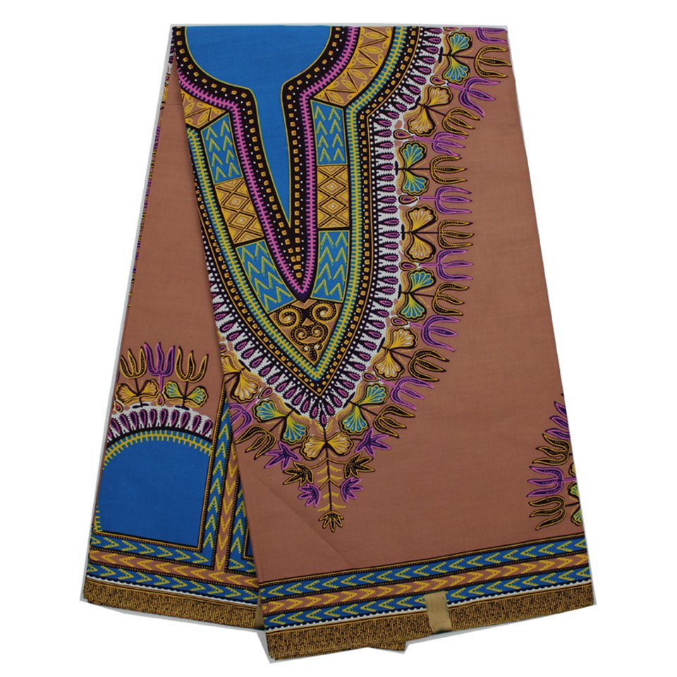 YBGDK 13 New Green Dashiki Wax fabrics, African Maxi Skirt clothing ...