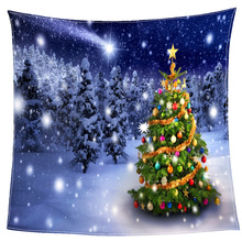 Digital Print Christmas Throw Blankets Blanket Manta Coral Flannel Blanket Sofa/Couch Bed/Plane Travel Plaids TV Blanket christmas snowscape moon flannel throw blanket