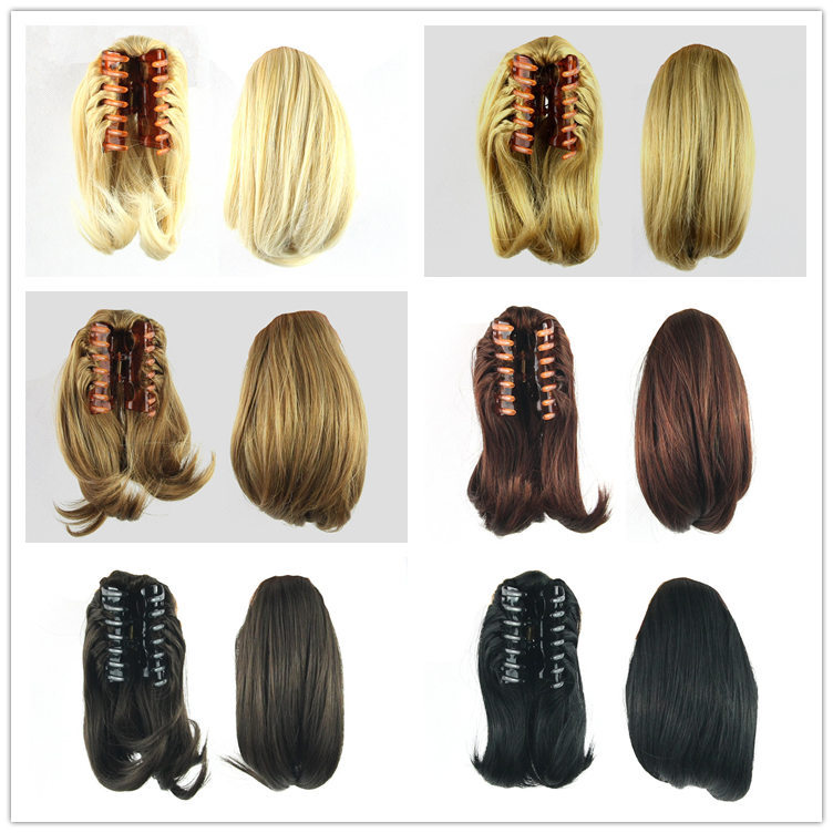 1pc 90g 10 Inch 8 Colors Free Shipping Cute Short Hair Ponytail