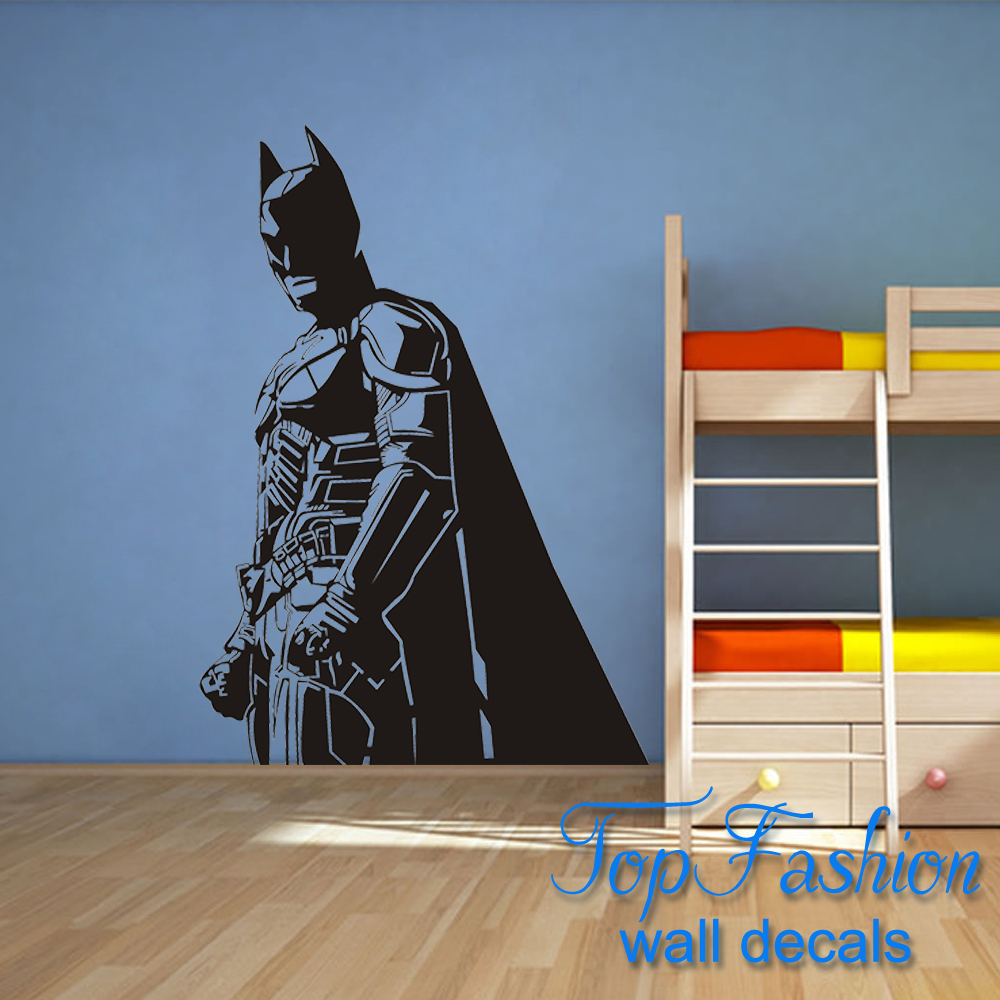 Aliexpress buy batman wall decal vinyl sticker the dark aliexpress buy batman wall decal vinyl sticker the dark knight superhero atr home decor wall sticker children bedroom decoration 2 sizes from reliable amipublicfo Image collections