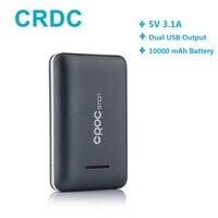 Power Bank CRDC 10000mAh Poverbank Ultra Slim Bateria Externa For Xiaomi Mi Etc Mobile Phone Portable