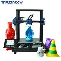 Presale новый модернизированный Tronxy XY 2 Pro быстромонтируемый 3d принтер автоматическое выравнивание Печать датчик накаливания 3,5 ''сенсорный