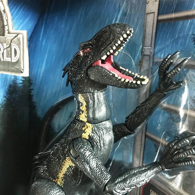 Jurassic World Original Dinosaur Figure Fallen Kingdom Revoltech Joint Villain Velociraptor Simulation Indoraptor Model Boy Toys
