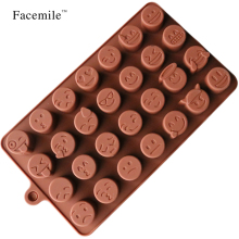 Chocolate Silicone Mold For Cake Cookies Mold Baking Accessories Fondant Candy Silicone DIY Molds