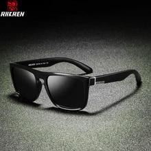 BRAND Polarized Sunglasses Men DESIGN Square For Vintage Retro Driving Goggles Sport Eyewear UV400 Gafas