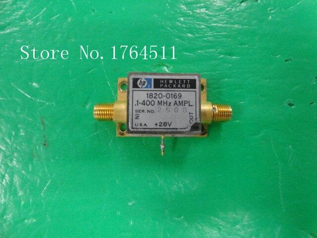 [BELLA] ORIGINAL 1820-0169 0.1-400MHZ 25dB 28V Low Noise Amplifier SMA
