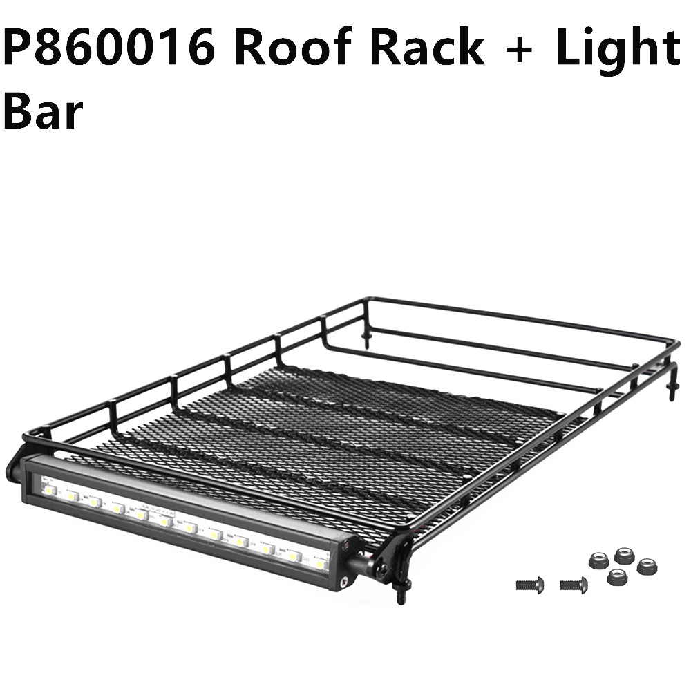 RGT RC Spare Parts P860016 Roof Rack with Light Bar For EX86100 Rock Cruiser RC Crawlers