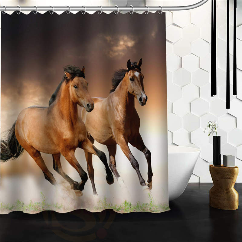 Popular Colorful Horse art Painting Waterproof. Online Get Cheap Horse Bathroom Decor  Aliexpress com   Alibaba Group