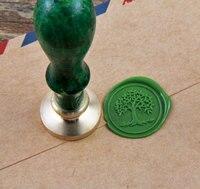 Bán Hot wax seal stamp/tree of life mạ vàng wax seal/cây niêm phong wax/biểu tượng đám cưới WS086