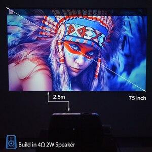 Image 3 - Everycom X7 מיני USB מקרן אנדרואיד led מקרן full hd וידאו נייד כיס קולנוע ביתי טלוויזיה תיאטרון וידאו projecteur 3D