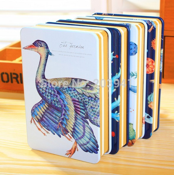 Kawaii Retro Biological Iron style DIY Craft paper diary book/Nice Vintage gift/wholesale