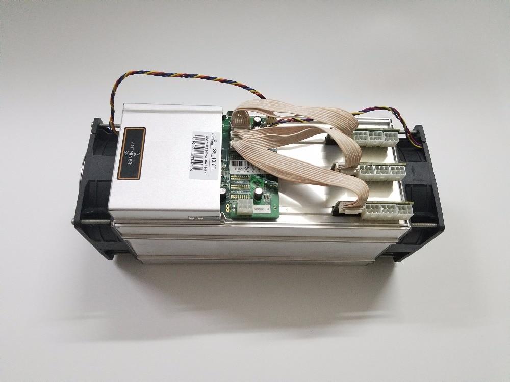 Free shipping YUNHUI  New AntMiner S9 13.5T (NO PSU) Bitcoin Miner Asic Miner BTC BCH Miner Bitcoin Mining Machine