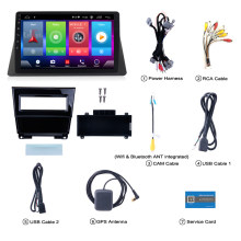 Smart Full touch Android 8.1 auto gps navigatie speler voor Honda Accord 8th 2009 stereo radio bluetooth multimedia DSP hoofd unit(China)