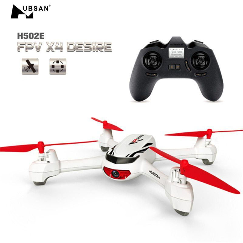 (In Stock) Hubsan H502E X4 With 720P 2.4G 4CH HD Camera GPS Altitude Mode RC Quadcopter RTF Mode Switch