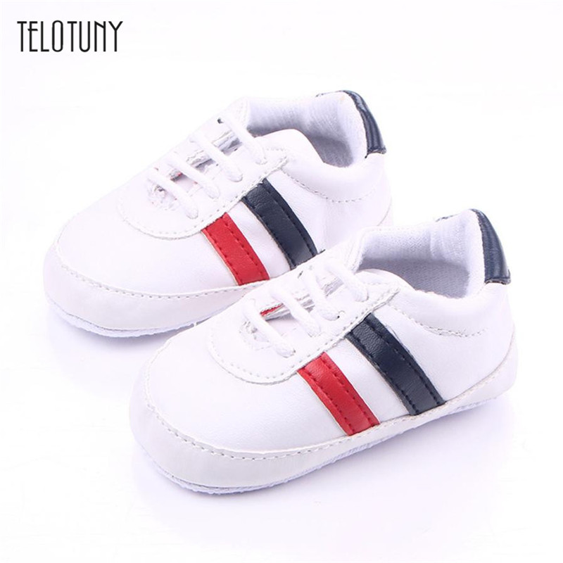 TELOTUNY Prewalker-Shoes Newborn Infant Baby-Girls-Boys Crib Soft-Sole Warm Anti-Slip