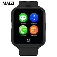 LUNDI Smart Uhr C88 Uhr Sync Notifier Unterstützung Sim-karte Bluetooth-konnektivität Apple Iphone Android Telefon Smartwatch Uhr