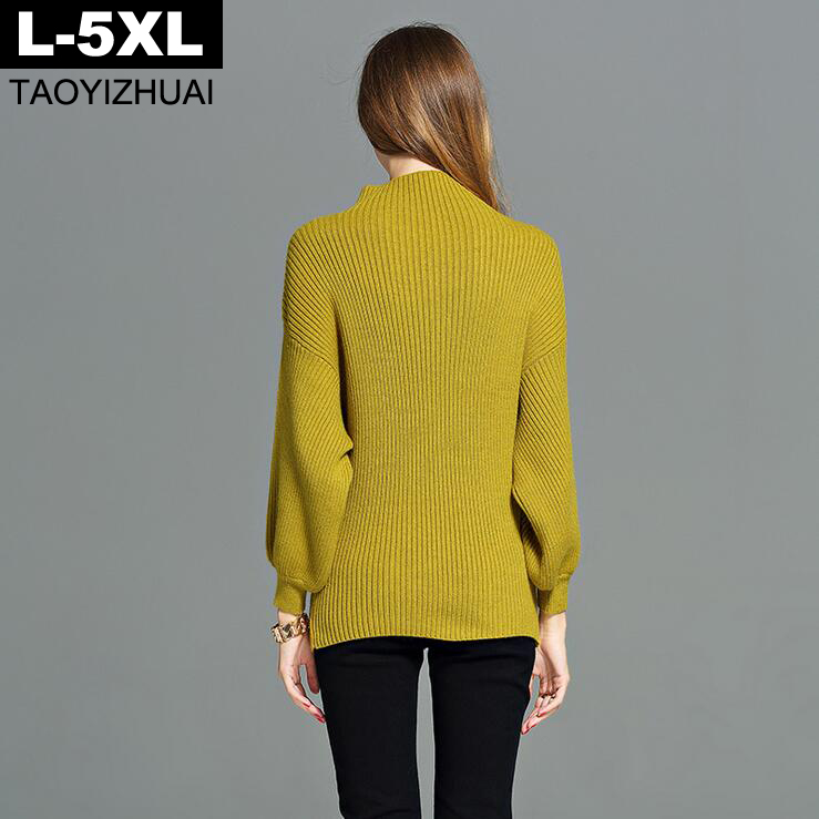 Aliexpress.com : Buy Yellow green Oversized Sweater for Women 2017 ...