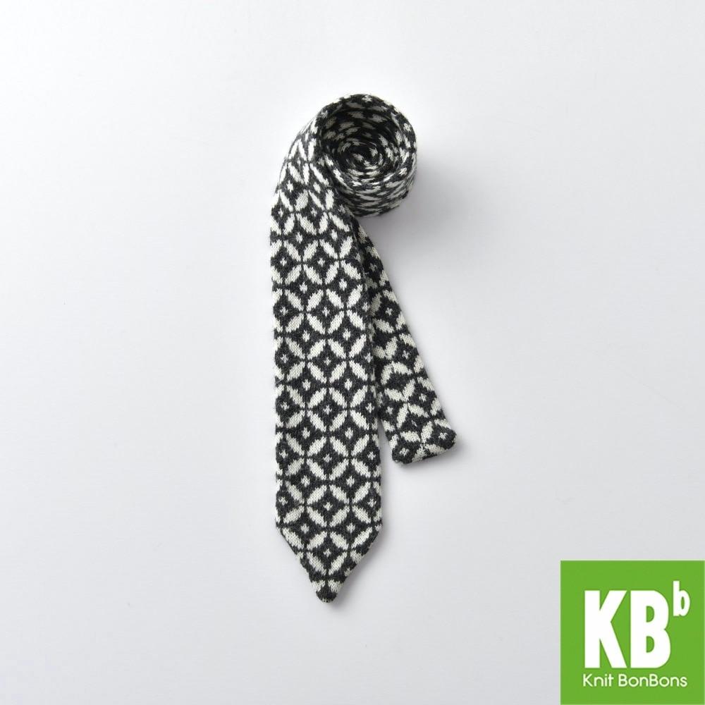 2018 Frühling Kbb Wolle Grau Jacquard Stricken Krawatte Für Männer Classy Mode Krawatte Mode Für Anzug Formale Geschäfts Hochzeit Casual Party