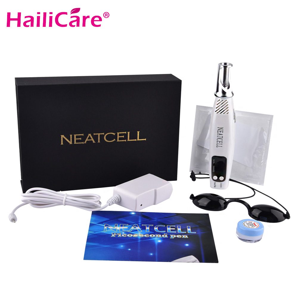 Professional Laser Pen Removal Freckle Tattoo Removal Led Display Blue&Red Laser Acne Removal Mole Freckle Treatment Machine