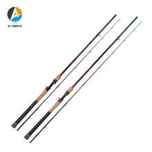AI-SHOUYU New Snakehead Lure Rod XF Action XH Power Full Fuji Casting Fishing Rod Travel Fishing Tackle Ultra-light for Big Fish