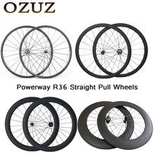 OZUZ прямые тянуть 24 мм 38 50 мм 88 мм углерода колёса довод Трубчатые дорожный велосипед et К 3 к матовый Китай 700c Велосипедный спорт
