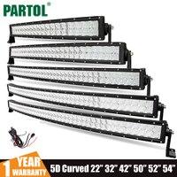 Partol 22 200W 32 300W 42 400W 50 480W 52 500W 54 520W 5D CREE Chip