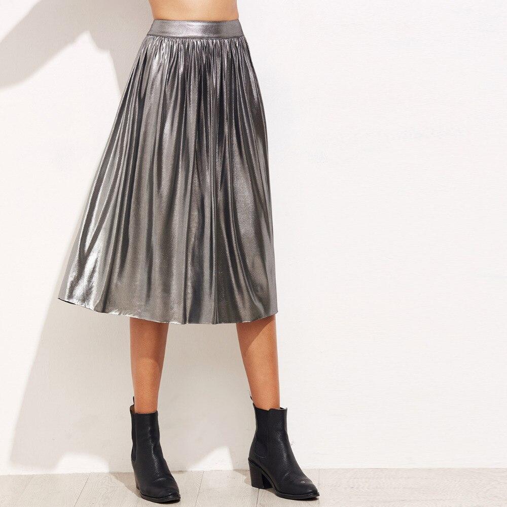 Длина юбки для полной икры