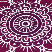 Indoor Outdoor Polyester Round Beach Pool Home Shower Towel Blanket Table Cloth Yoga Mat