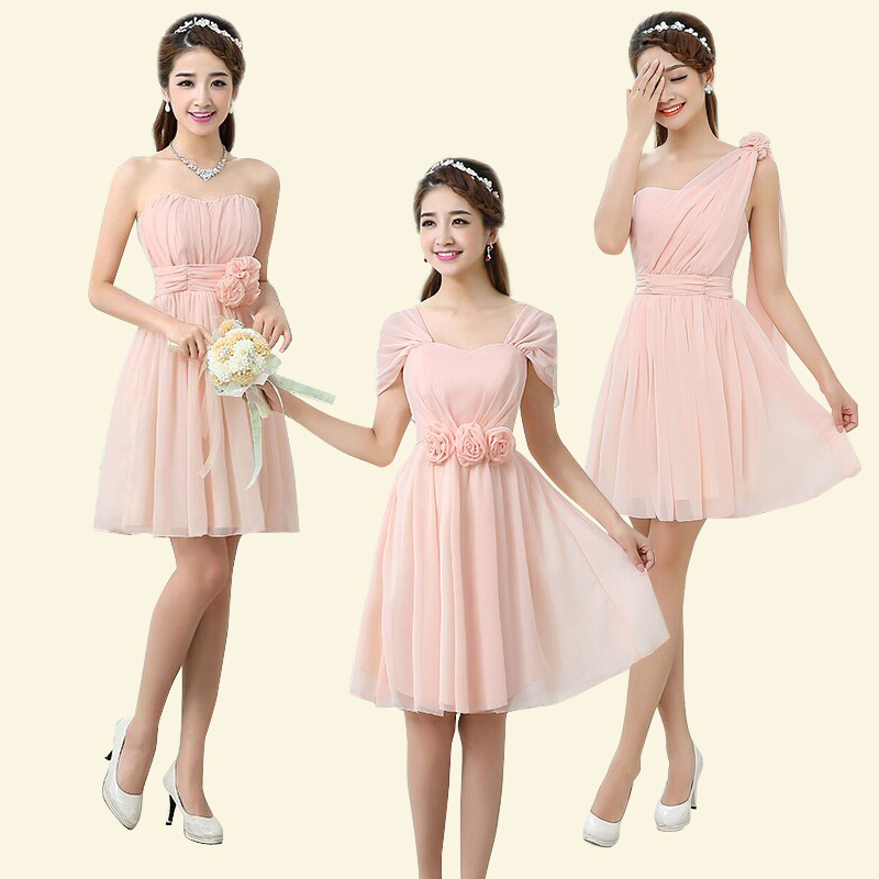 Cheap Bridesmaid Dresses Under 50 Pink