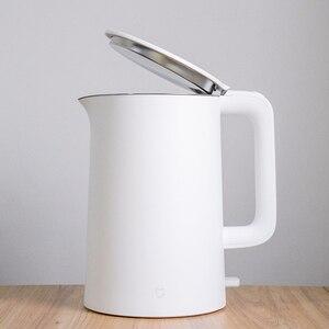 Image 3 - 2020 nouveau XIAOMI MIJIA bouilloire électrique rapide ébullition inoxydable théière samovar cuisine eau bouilloire Mi maison 1.5L isolation
