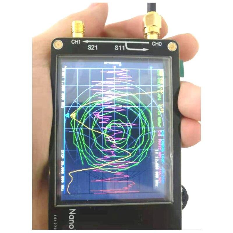 New NanoVNA 2 8 inch Touch LCD HF VHF UHF UV Vector Network