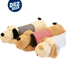 Cute Papa Dog  toy doll large striped stud dog bed pillow oversized long pillow pillow gift    0202