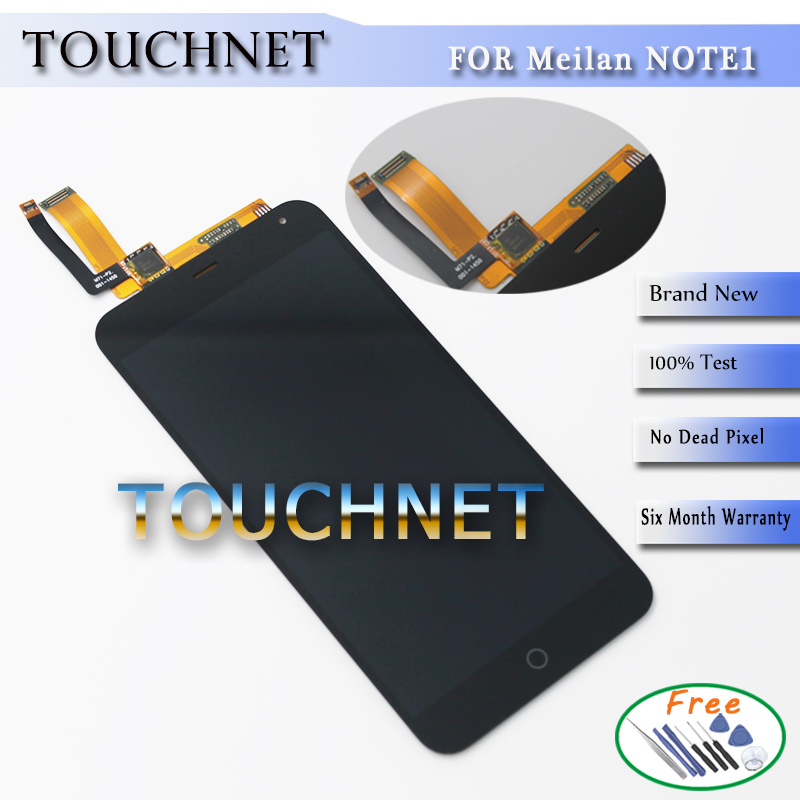 Meizu M1 Note LCD Display +Touch Screen Replacement Screen Without Frame For Meizu M1 Note Smartphone Free Shipping